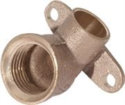 Vale® Integral Solder Ring Wall Plate Elbow