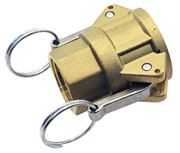 Vale® Brass Type D Lever Coupling NPT