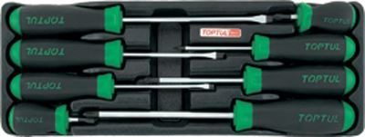 Toptul® Slotted & Phillips Screwdriver Set