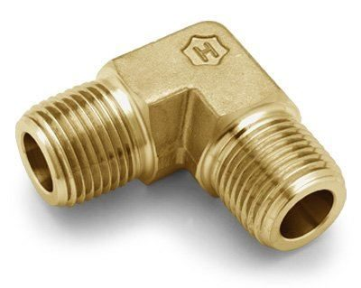 Ham-Let® brass Pipeline NPT male elbow