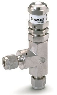 Ham-Let® H-900 relief valve with Let-Lok® connections and CE certificate
