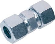 EMB® DIN 2353 Straight Connector Heavy Series Stainless Steel