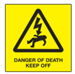 GTC Danger of Death Sign