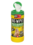 Bigwipes™ 4x4 Multi-Surface Cleaning Wipes Tub of 80