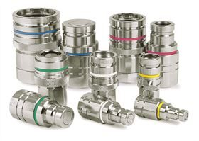 CEJN® Non-Drip Series Stainless Steel Couplings
