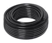 Vale® Braided PVC Hose 30m Coil Black