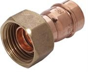 Vale® Integral Solder Ring Straight Tap Connector