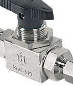 Ham-Let compression fittings and instrumentation