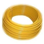 MDPE yellow gas pipe