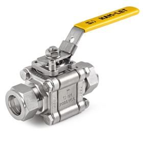 Ham-Let H-500 3-piece ball valves