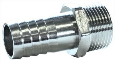Brass Hose Tail BSPT Nickel Plated