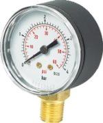 Vale® 50mm Bottom Connection Pressure Gauge BSPP