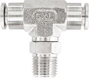 Vale® Stainless Steel Push-In male swivel branch tee BSPT