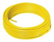 Metric Copper Tube with a Yellow 1.5mm PVC Sheath