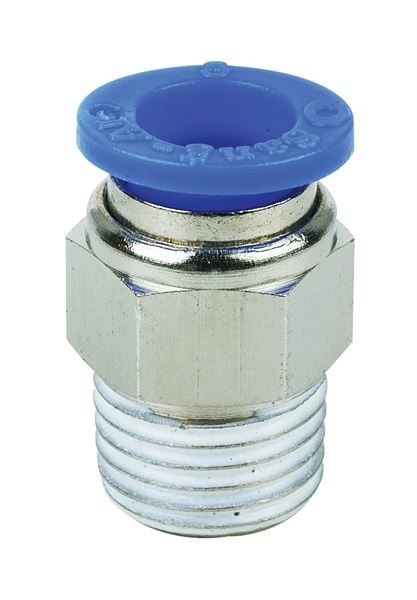 Vale® Hex Body Male Stud Coupling BSPT