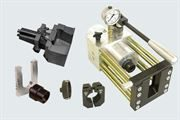 EMB® Unipress hand assembly machine with Industrial Ancillaries