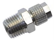 Vale® Rapid Push Over male stud coupling BSPT