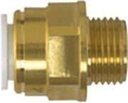Push-On Speedfit® Brass Male Coupling
