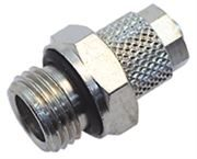 Vale® Rapid Push Over male stud coupling BSPP