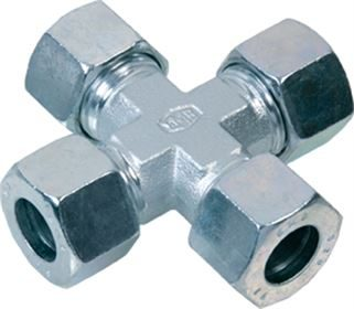 EMB® DIN 2353 stainless steel equal cross