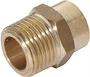 Vale® Integral Solder Ring Male Iron Connector