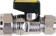 Vale® Mini Reducing Compression Ball Valve for Gas