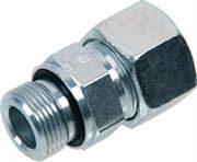 EMB DIN 2353 light series stainless steel male stud coupling Form E