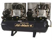 Fiac Air-Main ATM80/250 Tandem Air Compressor