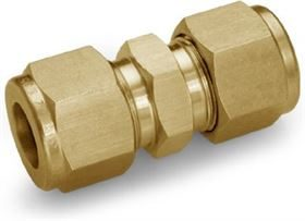 Ham-Let One-Lok Brass Single Ferrule Tube Fittings