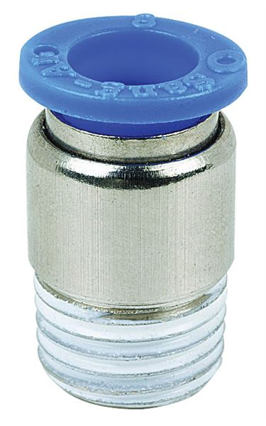 Vale® Round Body Male Stud Coupling BSPT