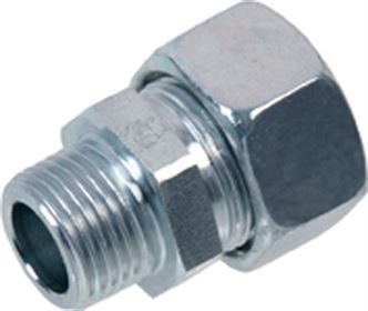 EMB® DIN 2353 stainless steel male stud coupling NPT