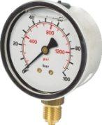 Vale® 63mm Bottom Connection Pressure Gauge BSPP