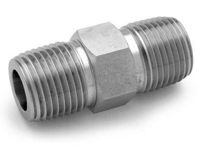 Ham-Let® Pipeline stainless steel extended hex nipple NPT