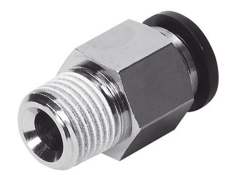 Festo QS Hex Male Stud Coupling (BSPT)
