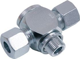EMB® DIN 2353 banjo tee couplings