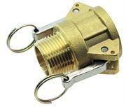 Vale® Brass Type B Lever Coupling BSPT