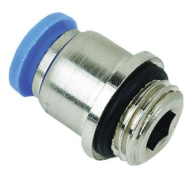 Vale® Round Body Male Stud Coupling Metric