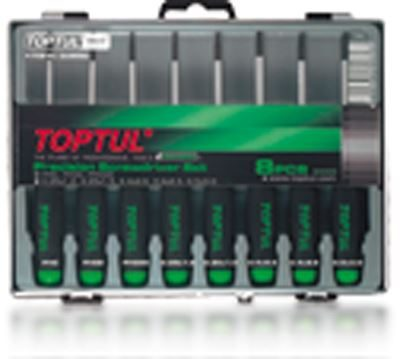 GAAW0802 Toptul 8 Piece Phillips/Slotted Precision Screwdriver Set