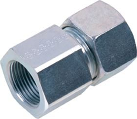 EMB® DIN 2353 Stainless Steel Female Stud Couplings